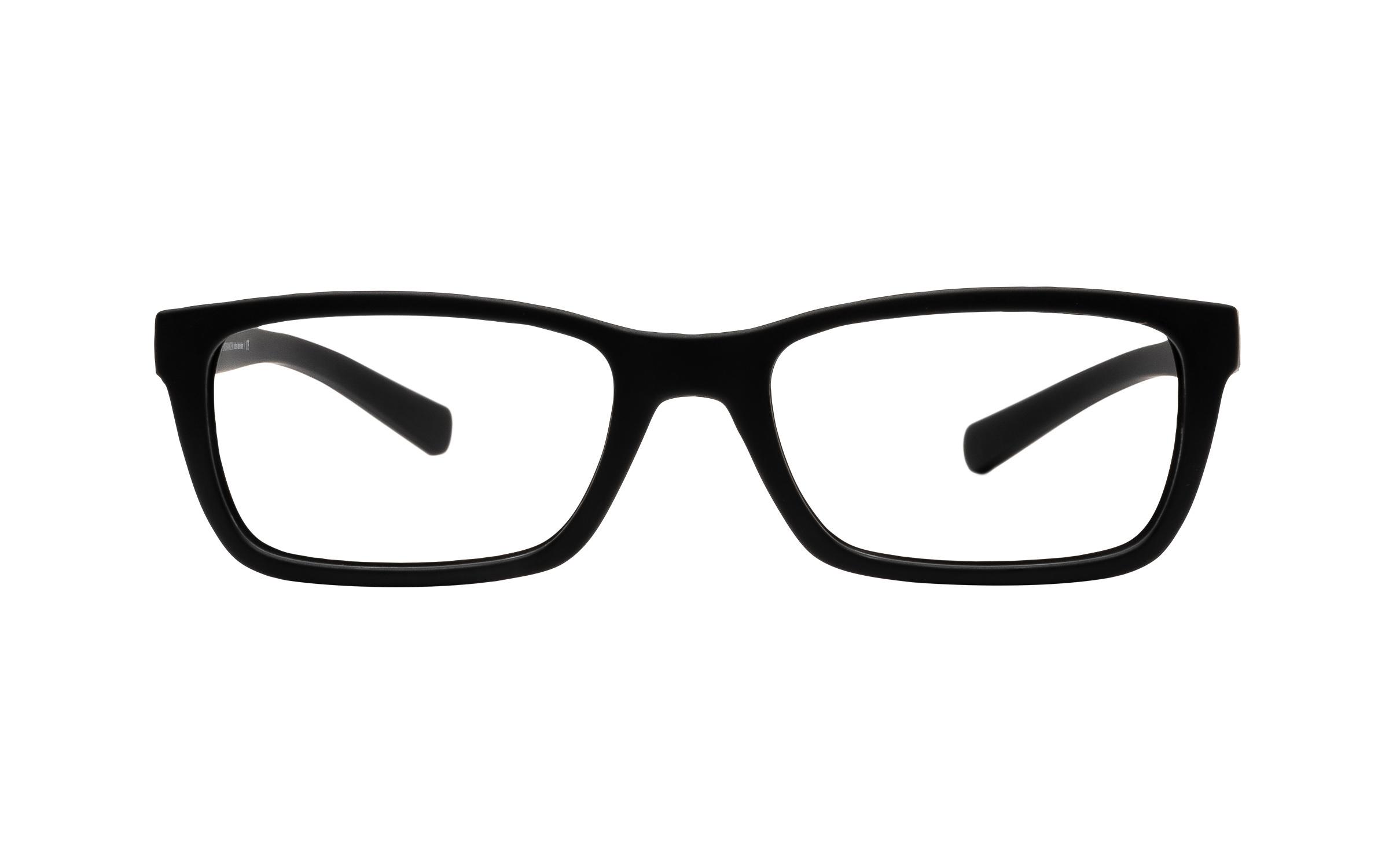 Luxottica Armani Exchange AX3007 8325 (53) Eyeglasses and Frame in Matte Black - Online Coastal