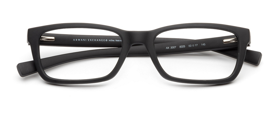 product image of Armani Exchange AX3007-53 Matte Black
