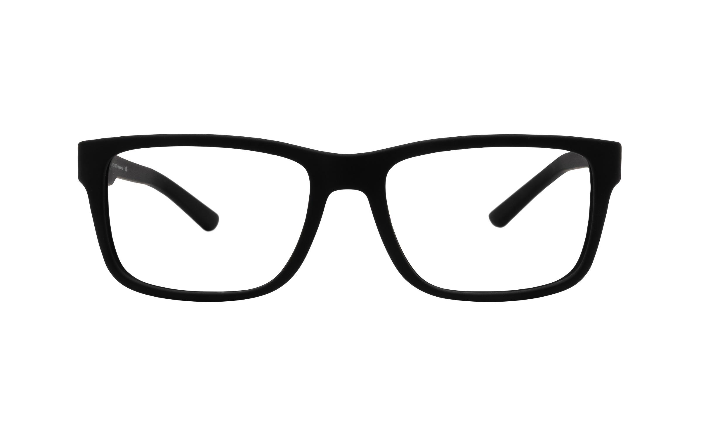 Armani Exchange AX3016 8078 (53) Eyeglasses and Frame in Matte Black - Online Coastal