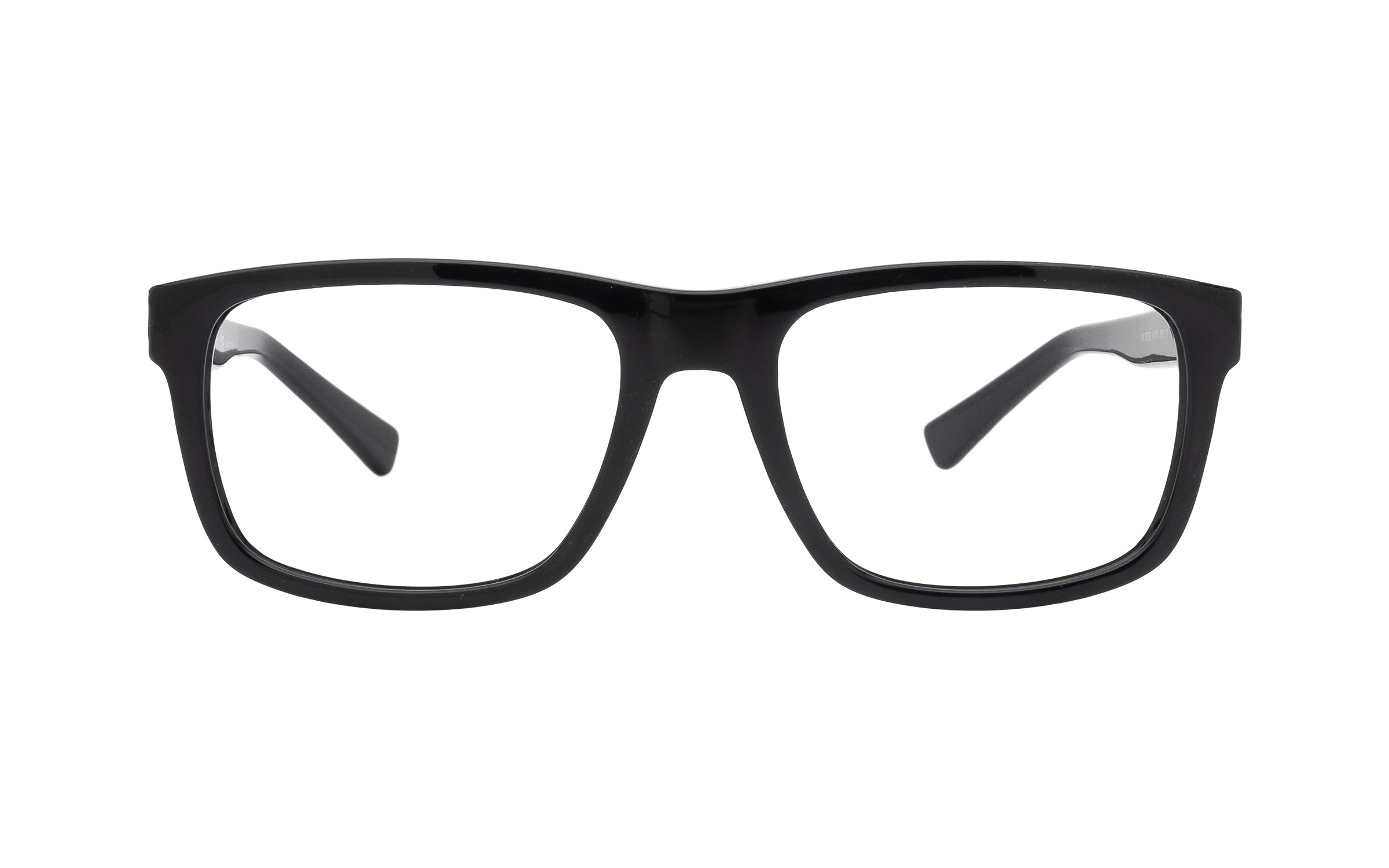 http://www.coastal.com/ - Armani Exchange AX3025 8178 (53) Eyeglasses and Frame in Shiny Black – Online Coastal