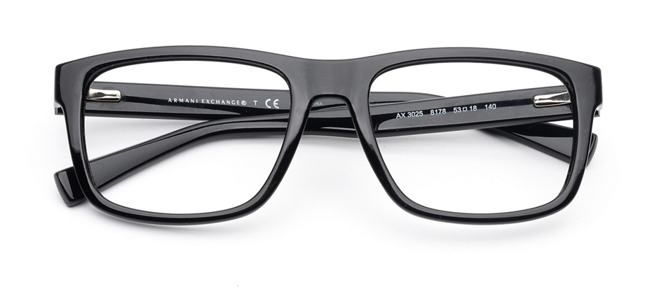 product image of Armani Exchange AX3025-53 Shiny Black