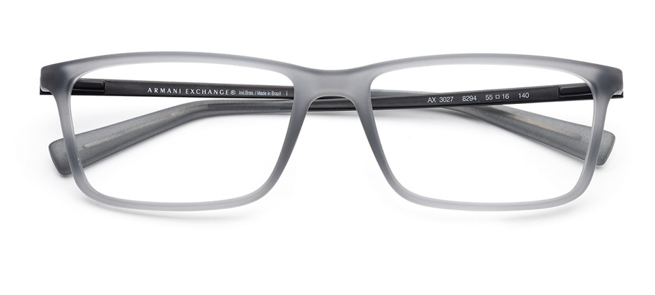 product image of Armani Exchange AX3027-55 Matte Opal Grey