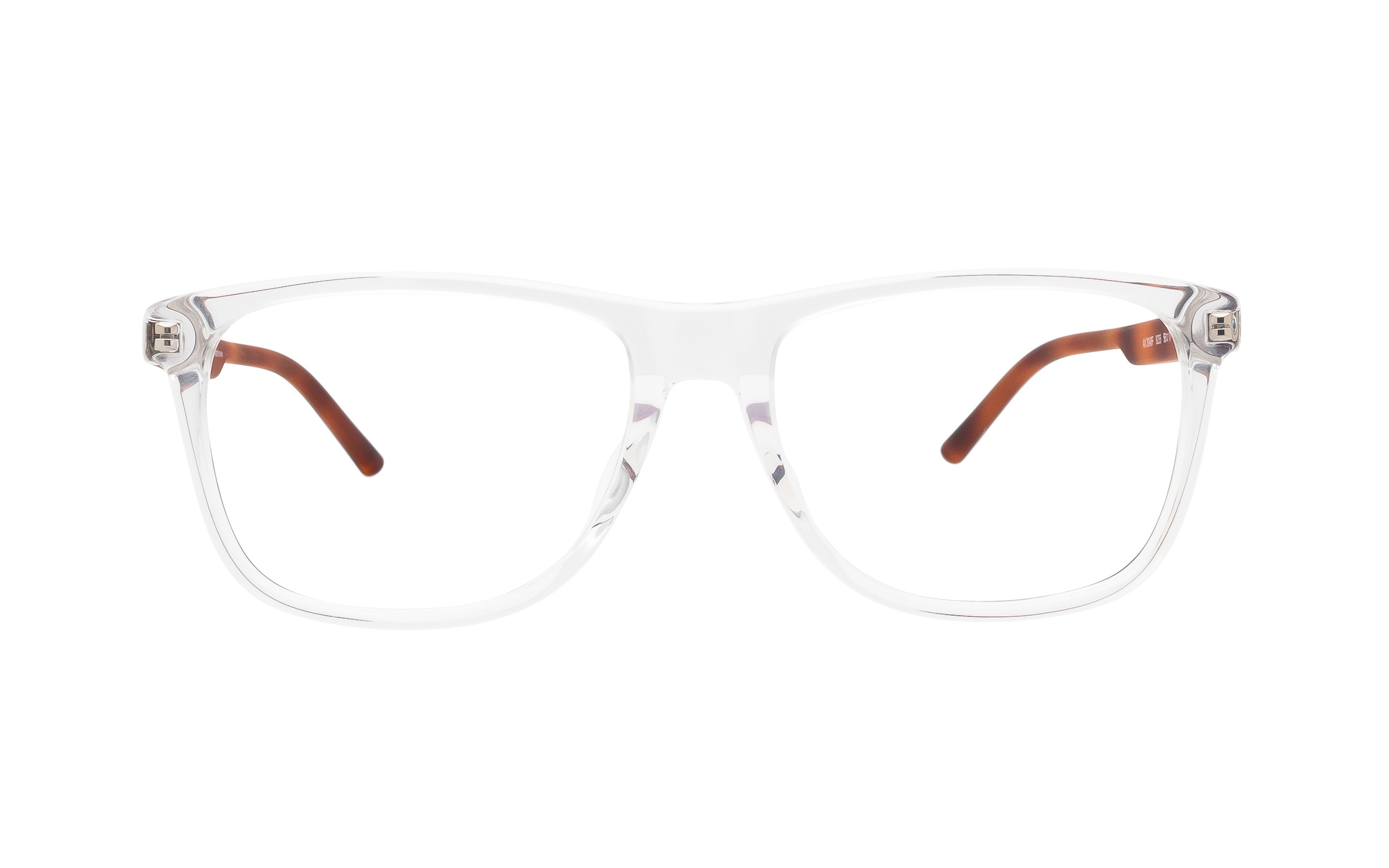 http://www.coastal.com/ - Armani Exchange AX3048F 8235 (56) Eyeglasses and Frame in Shiny Crystal Clear – Online Coastal