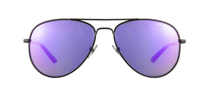product image of Arnette Trooper Matte Black Purple Mirrored