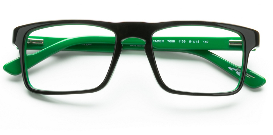 product image of Arnette Fader Black On Dark Green