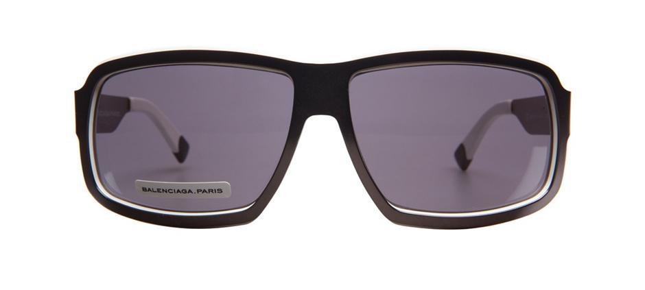 product image of Balenciaga BAL0014S-64 Dark Ruthenium White