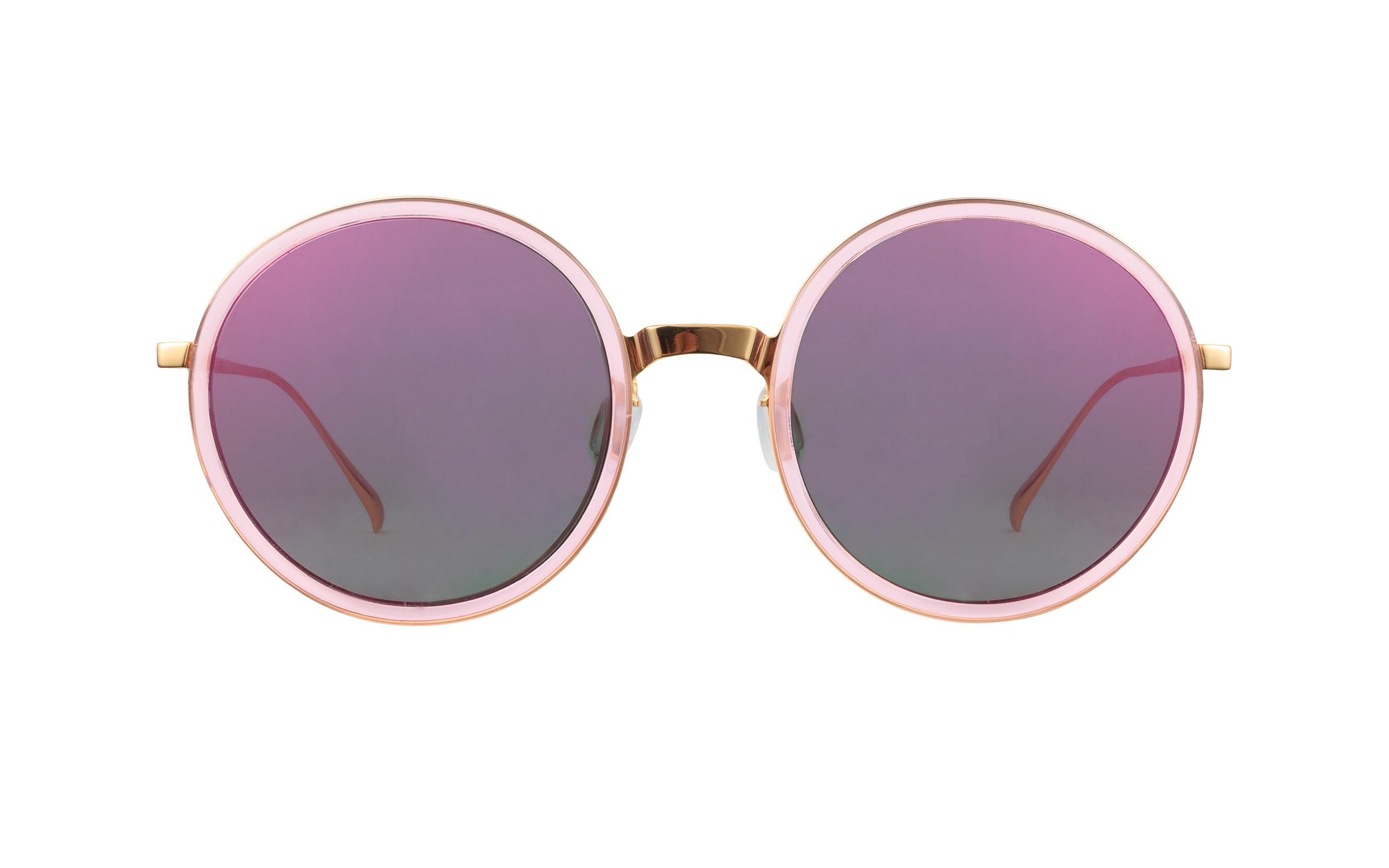 Bolon BL6005 B30 Pink Gold Sunglasses