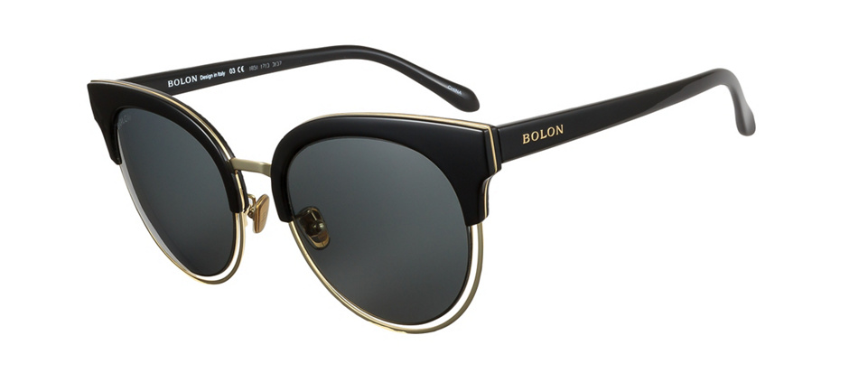 fa74182648 product image of Bolon BL6015-54 Black Gold Polarized
