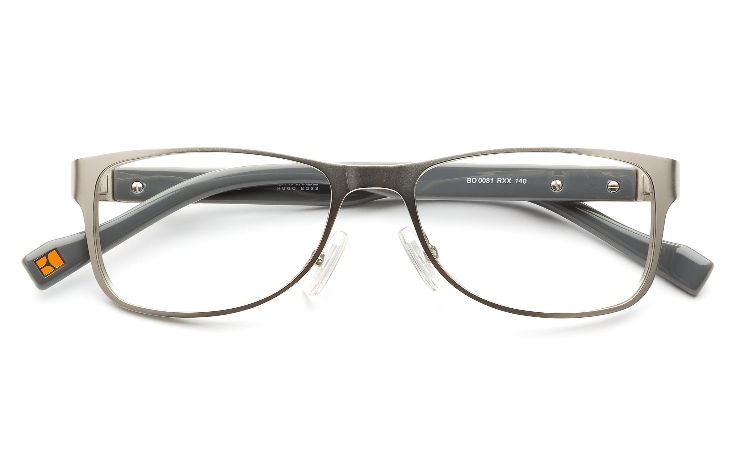 affordable glasses online 7qn1  product image of Boss Orange BO081-50 Palladium Gray