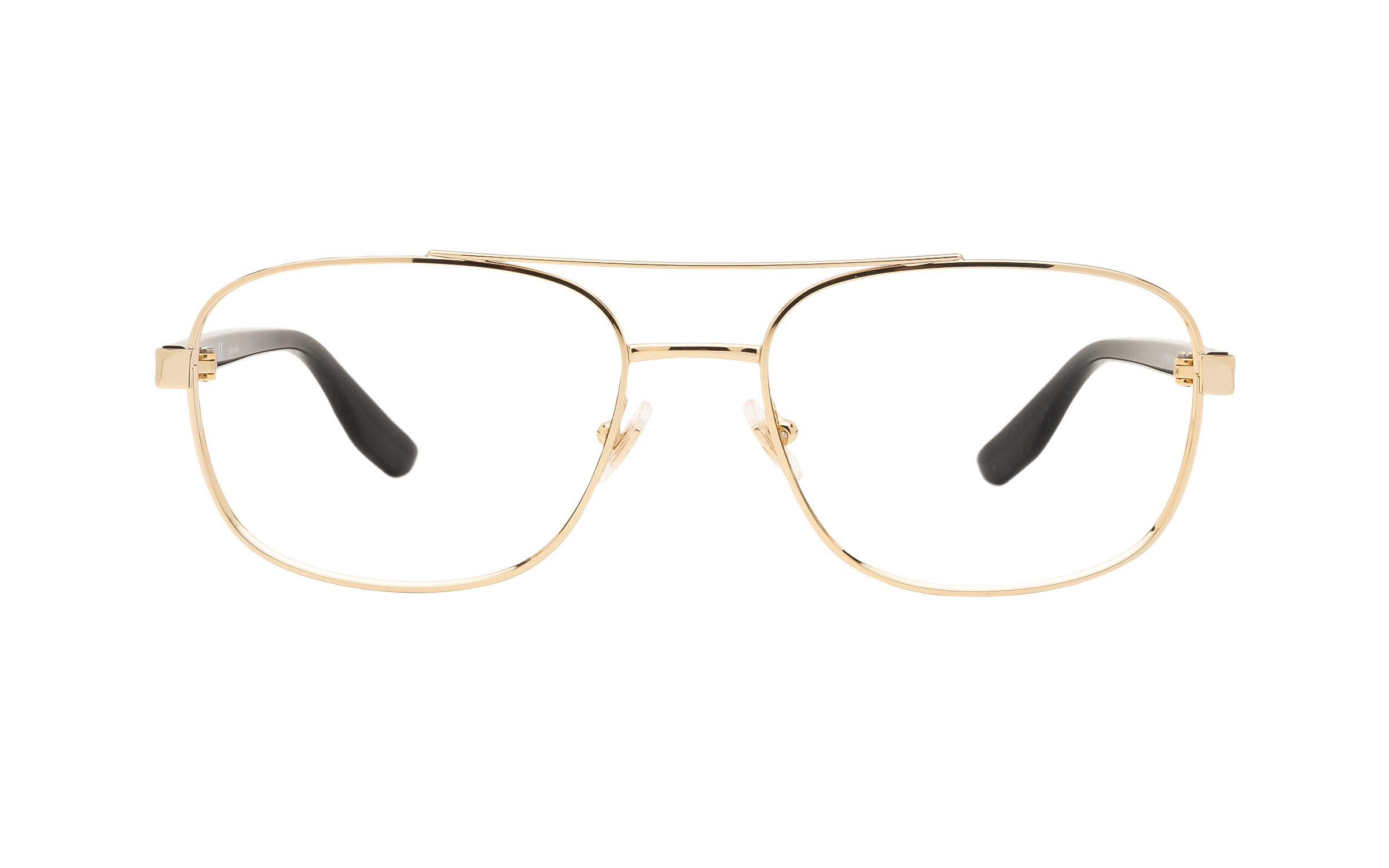 coastal.com - Chaps CP2089 9116 (55) Eyeglasses and Frame in Pale Gold | Acetate/Metal – Online Coastal 76.00 USD