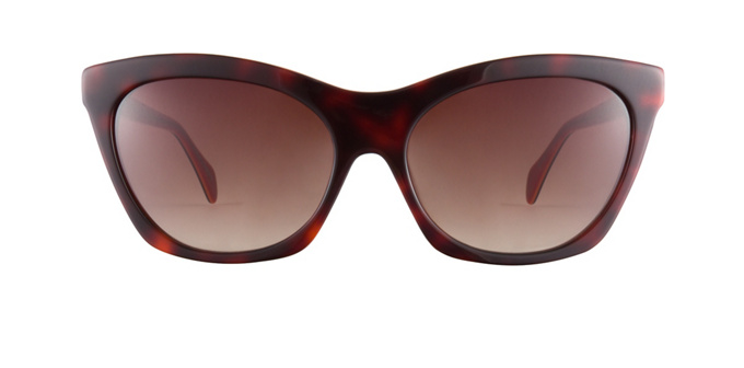 product image of Christian Siriano The-Alexa Tortoise Red