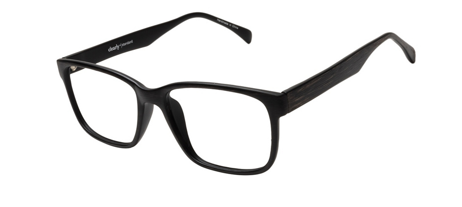 product image of Clearly Basics Francois Matte Black