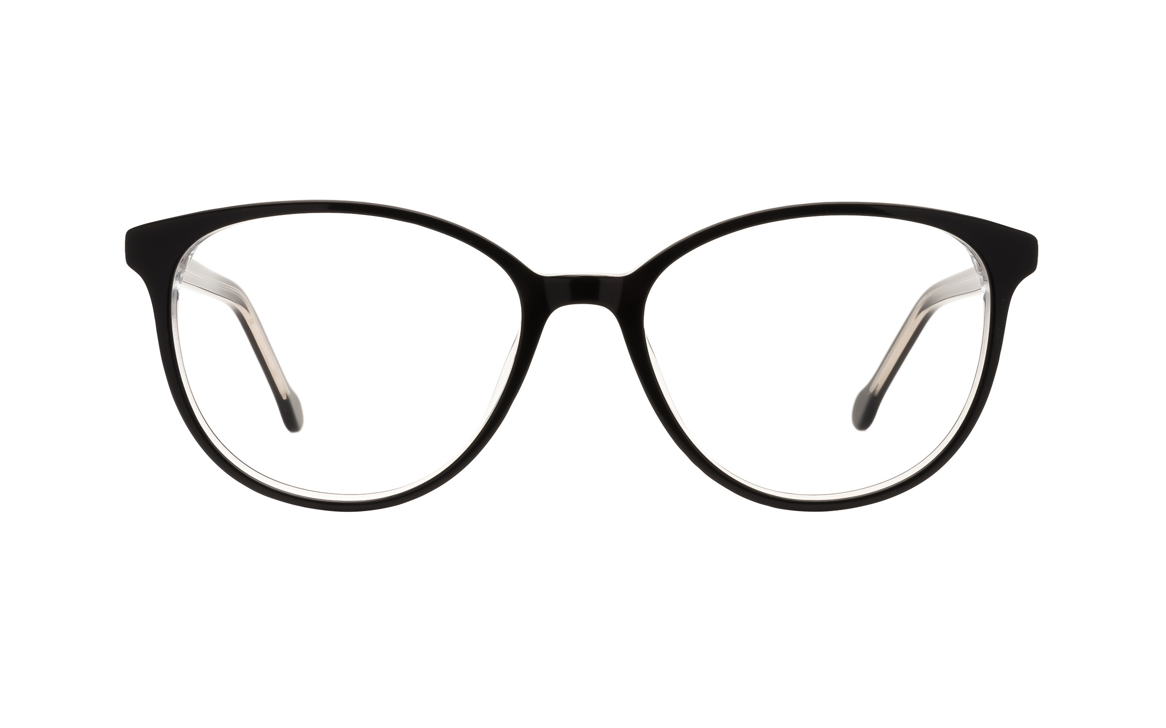 Laval unisex Black Glasses - Clearly Glasses Online