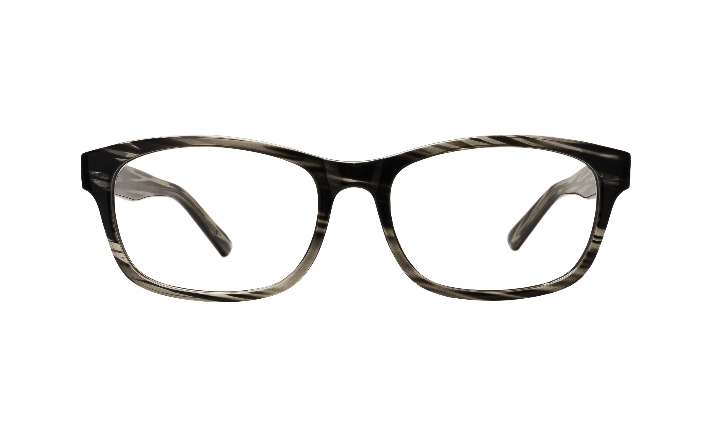 Clearly Basics Airdrie (53) Eyeglasses and Frame in Haze Grey - Online Coastal