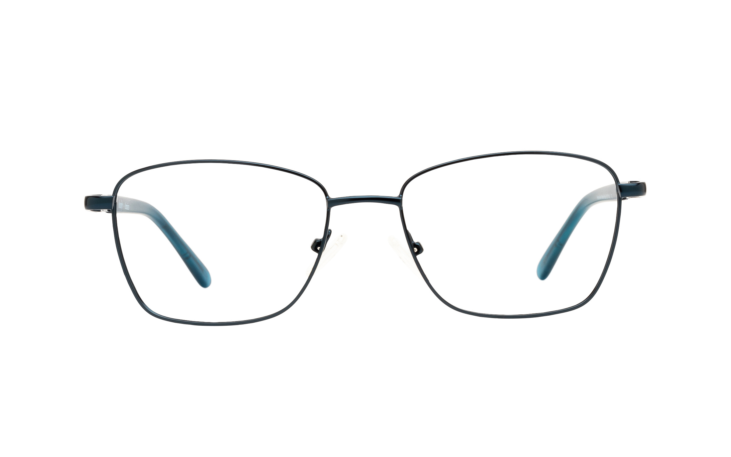 Clearly Basics Blackville CLS019 C02 (53) Eyeglasses and Frame in Matte Blue | Metal