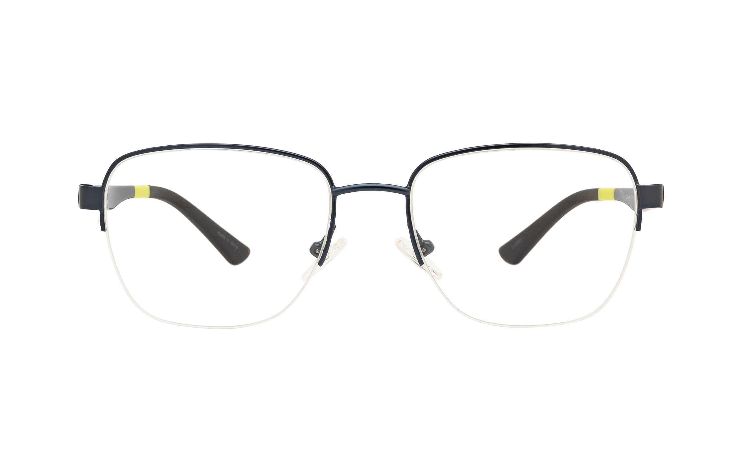 Clearly Basics Men's Blue Cove CLS099 C02 (53) Eyeglasses and Frame in Matte Navy