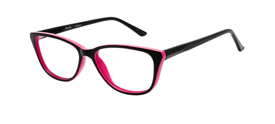 product image of Clearly Basics Botwood-54 Black Pink
