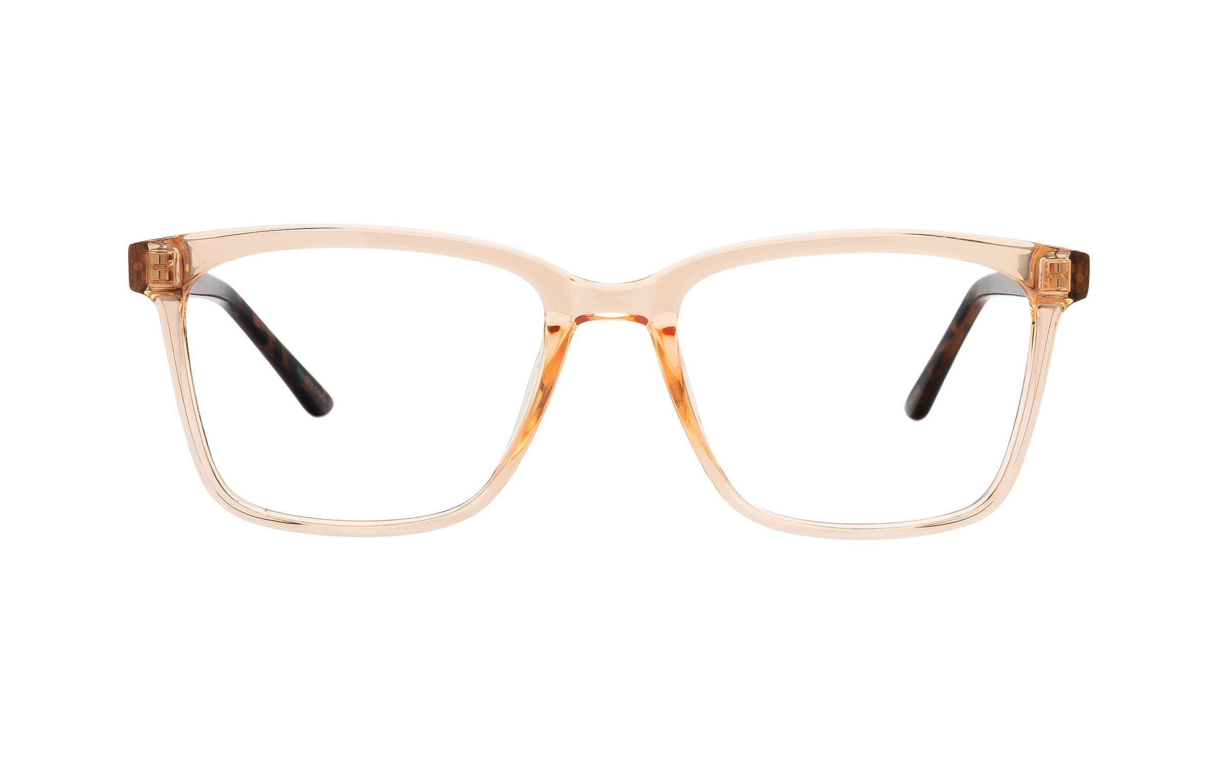 Clearly Basics Burin COL138 C02 (51) Eyeglasses and Frame in Peach Pink/Orange - Online