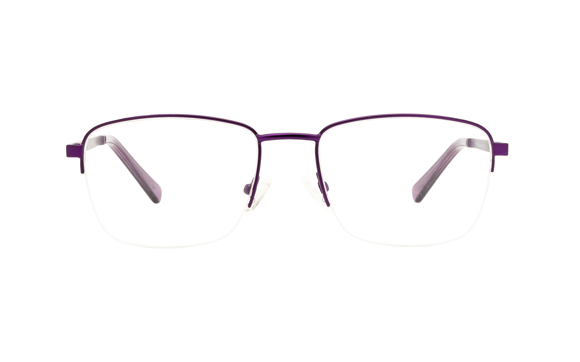 Clearly Basics Charlo CLS021 C02 (53) Eyeglasses and Frame in Matte Purple | Plastic/Metal - Online