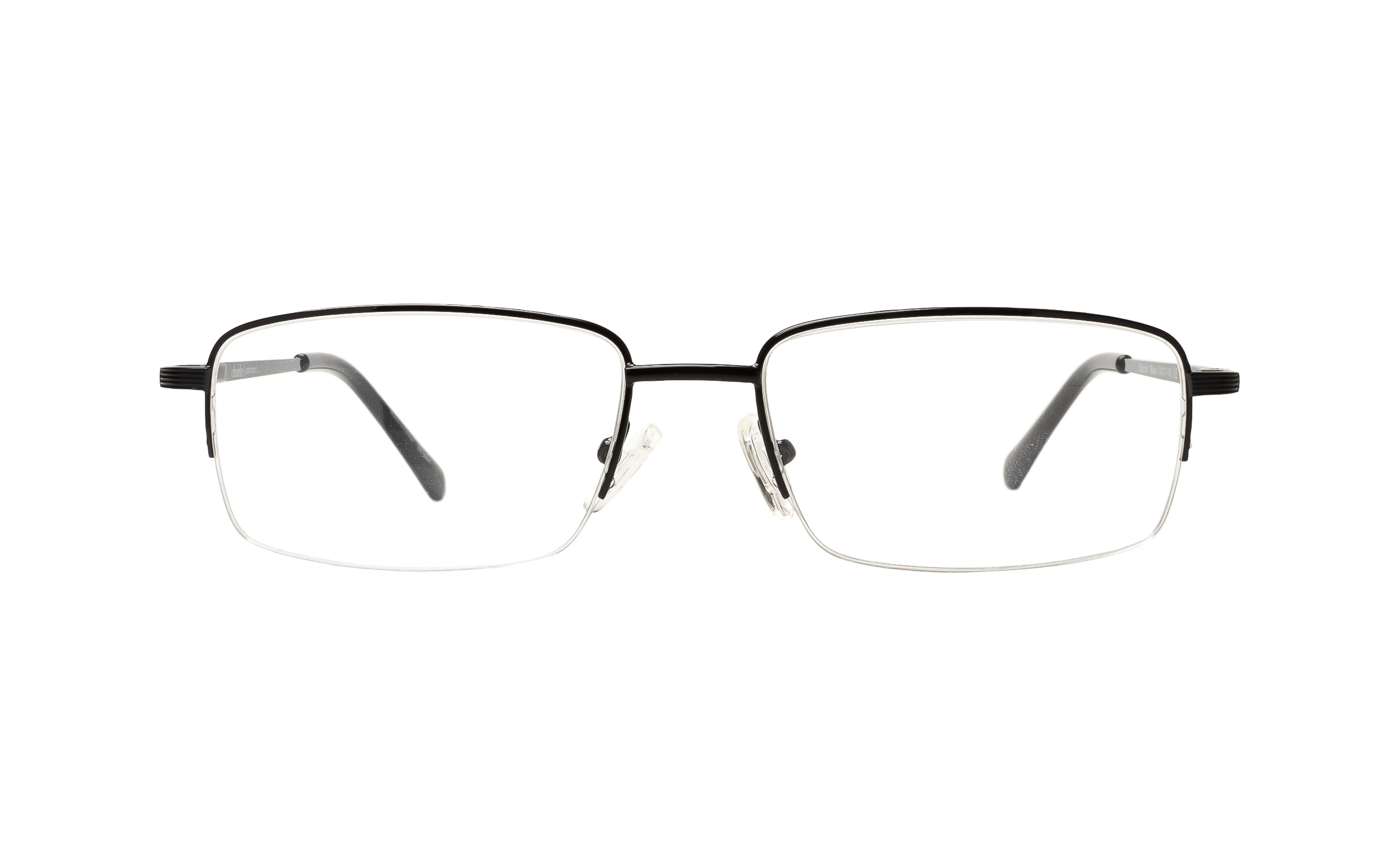 Clearly Basics Churchill (54) Eyeglasses and Frame in Black | Plastic - Online