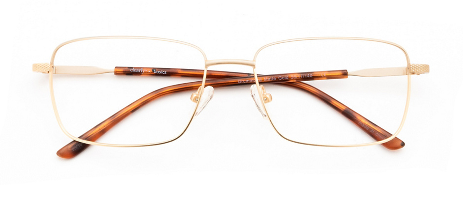 product image of Clearly Basics Drummond-56 Matte Gold