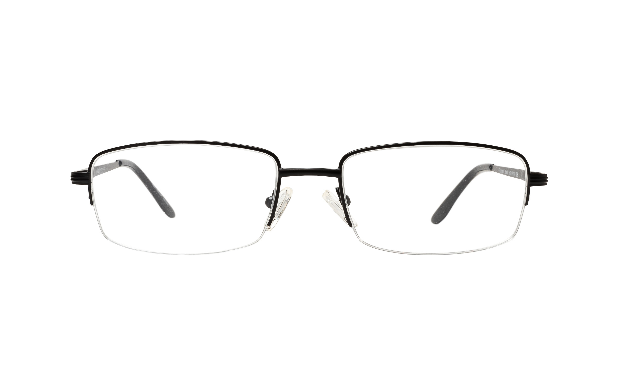 Clearly Basics Fitzgerald (55) Eyeglasses and Frame in Black - Online
