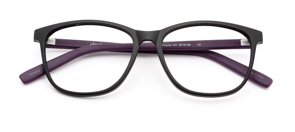 product image of Clearly Basics Fortune-52 Matte Black