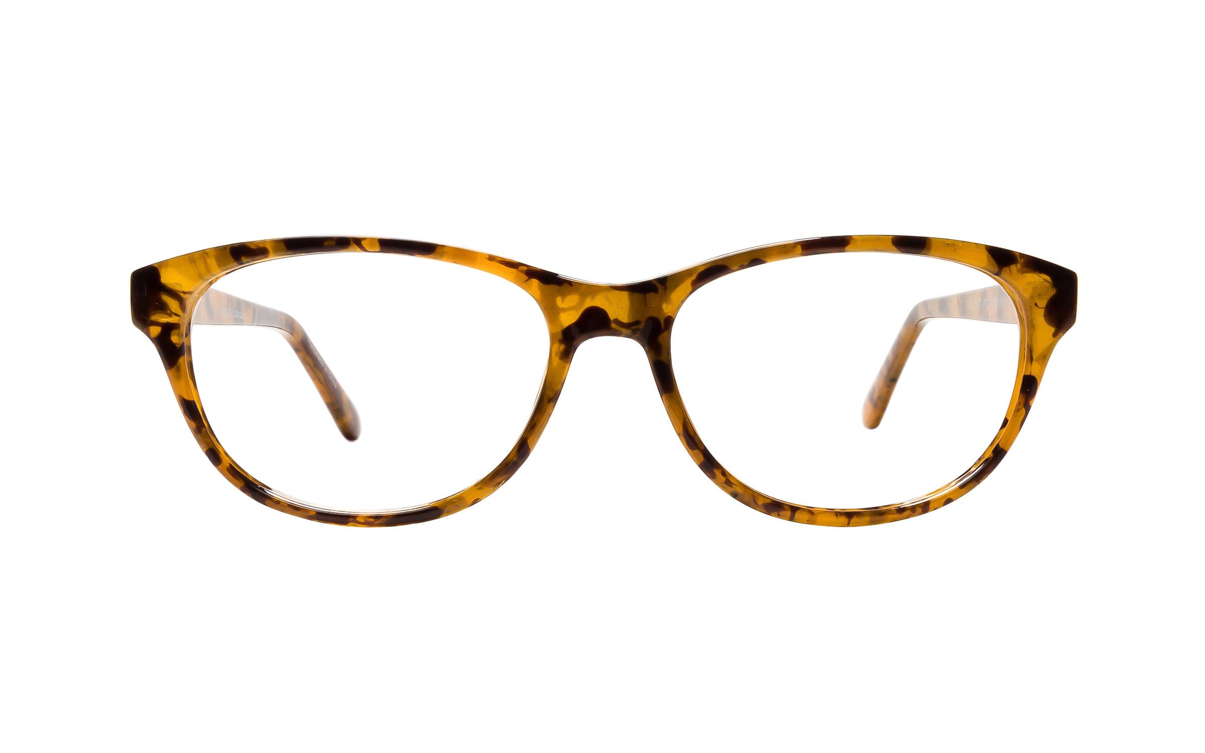 Clearly Basics Milllertown G015 T2 (50) Eyeglasses and Frame in Light Brown/Tortoise | Plastic - Online