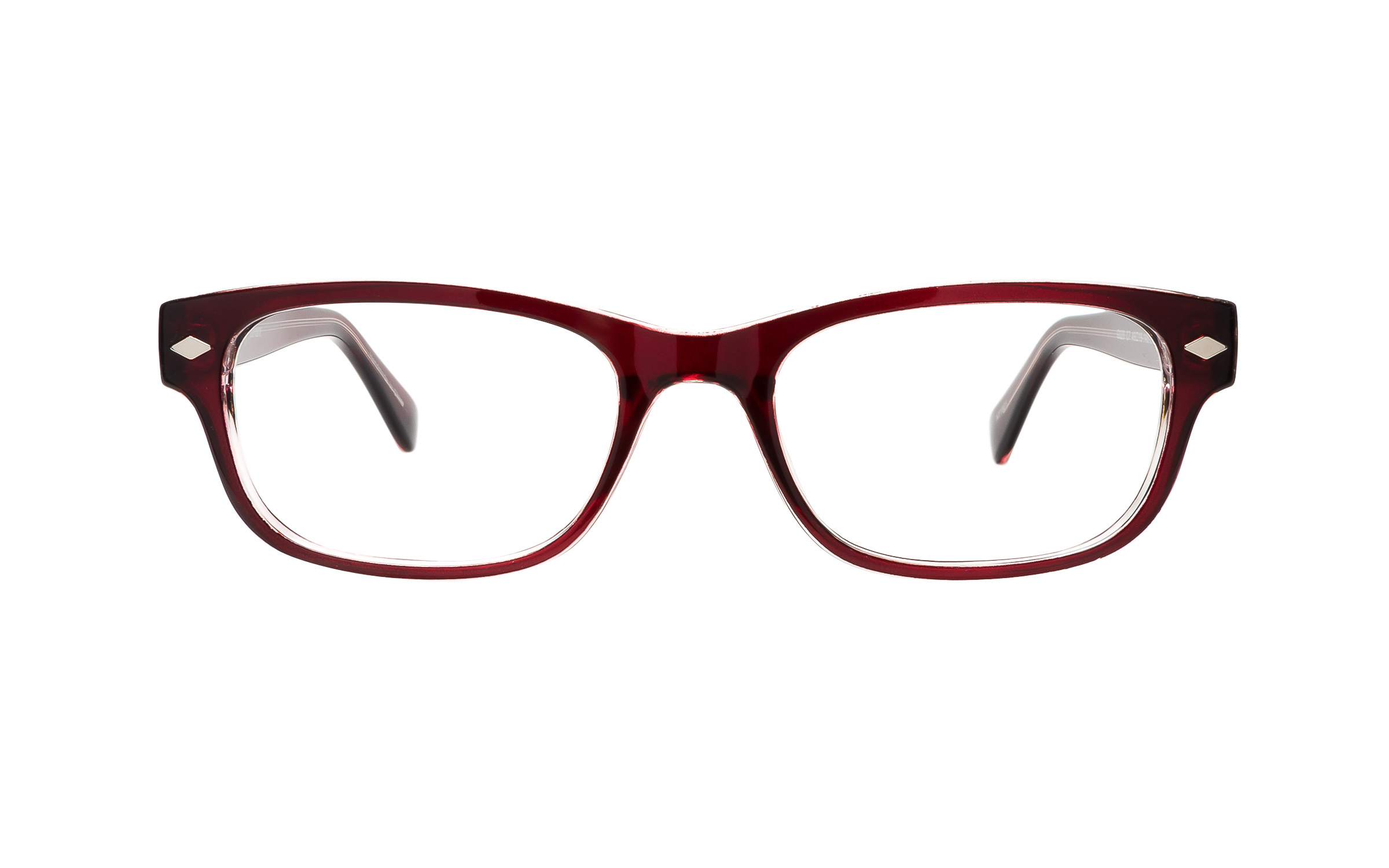 Clearly Basics Slate Falls G020 C7 (49) Eyeglasses and Frame in Red - Online Coastal