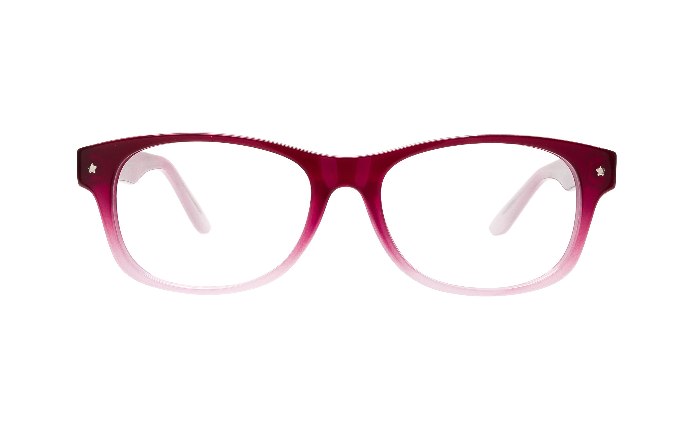 Clearly Basics Rigolet G028 C4 (50) Eyeglasses and Frame in Fade Pink/Clear | Metal - Online Coastal