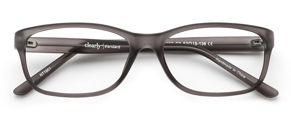 product image of Clearly Basics Nelson Matte Grey