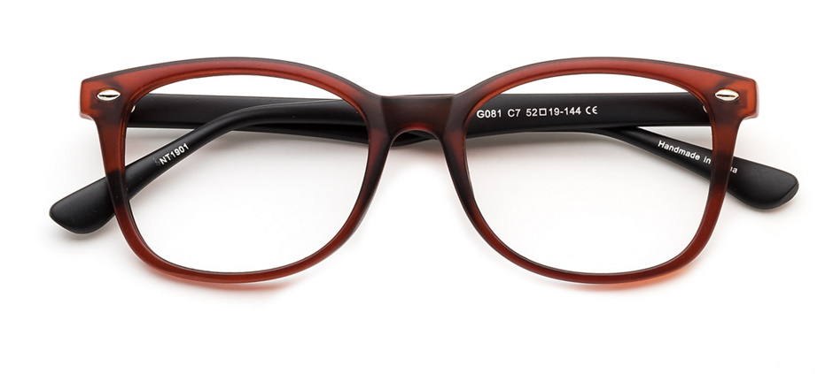 product image of Clearly Basics Afton Matte Brown