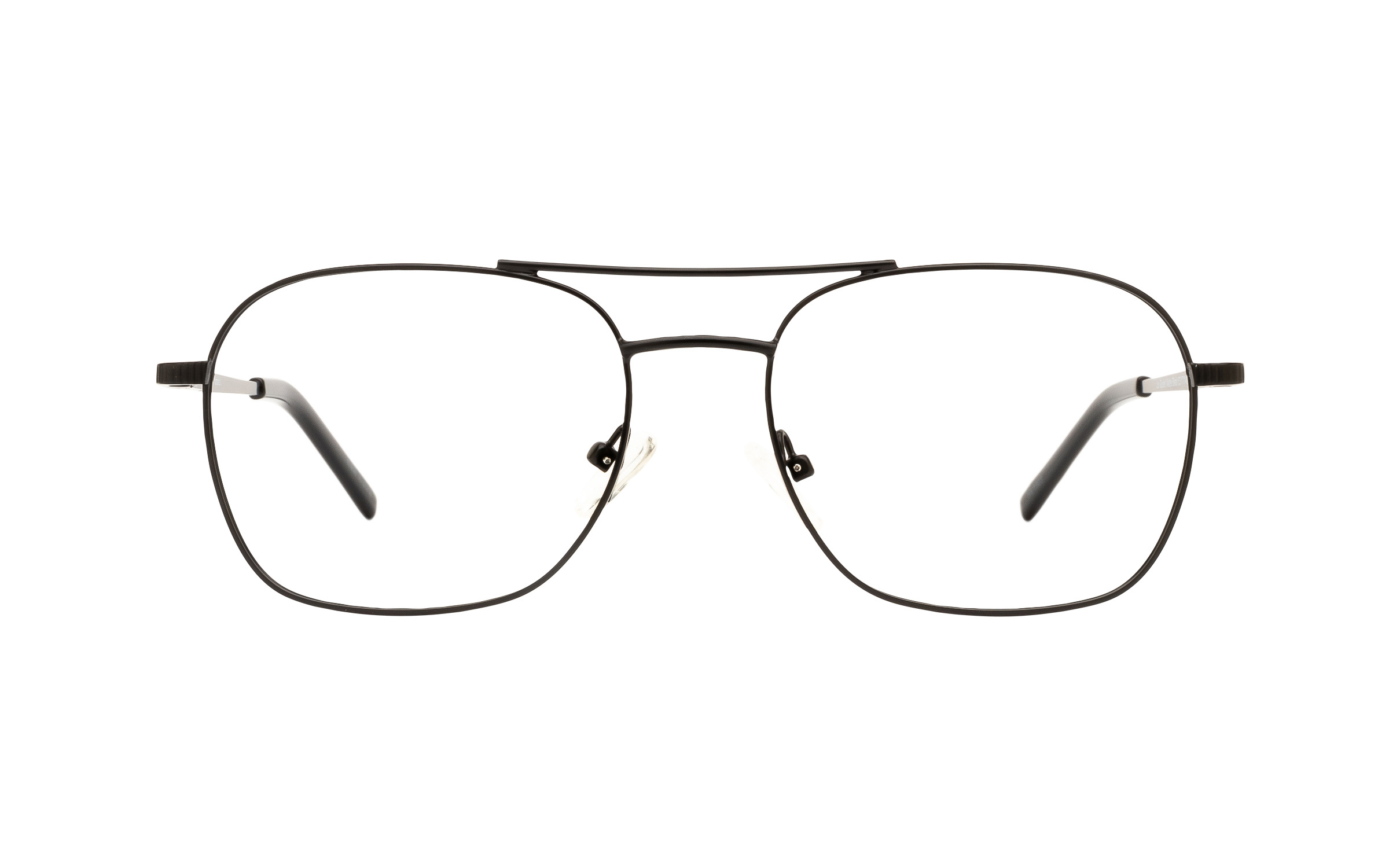 Clearly Basics Le Goulet CLS027 C01 (53) Eyeglasses and Frame in Matte Black | Metal - Online