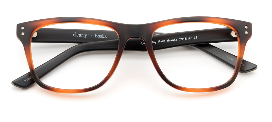 product image of Clearly Basics Lodge Bay-52 Matte Havana