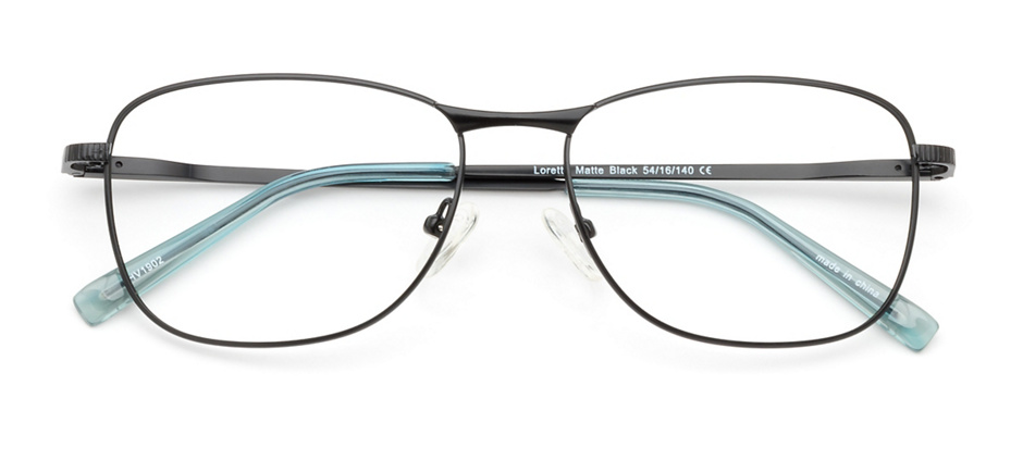 product image of Clearly Basics Lorette-54 Matte Black