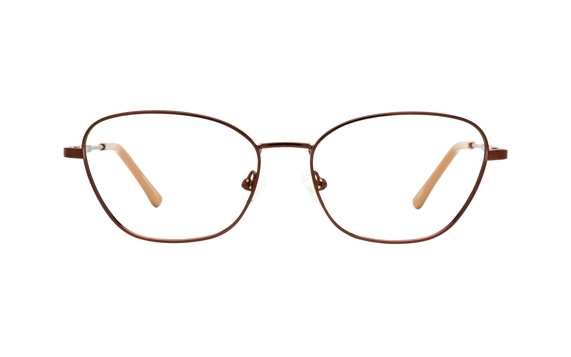 http://www.coastal.com/ - Clearly Basics Makkovik CLS065 C02 (53) Eyeglasses and Frame in Satin Brown | Acetate/Metal – Online Coastal