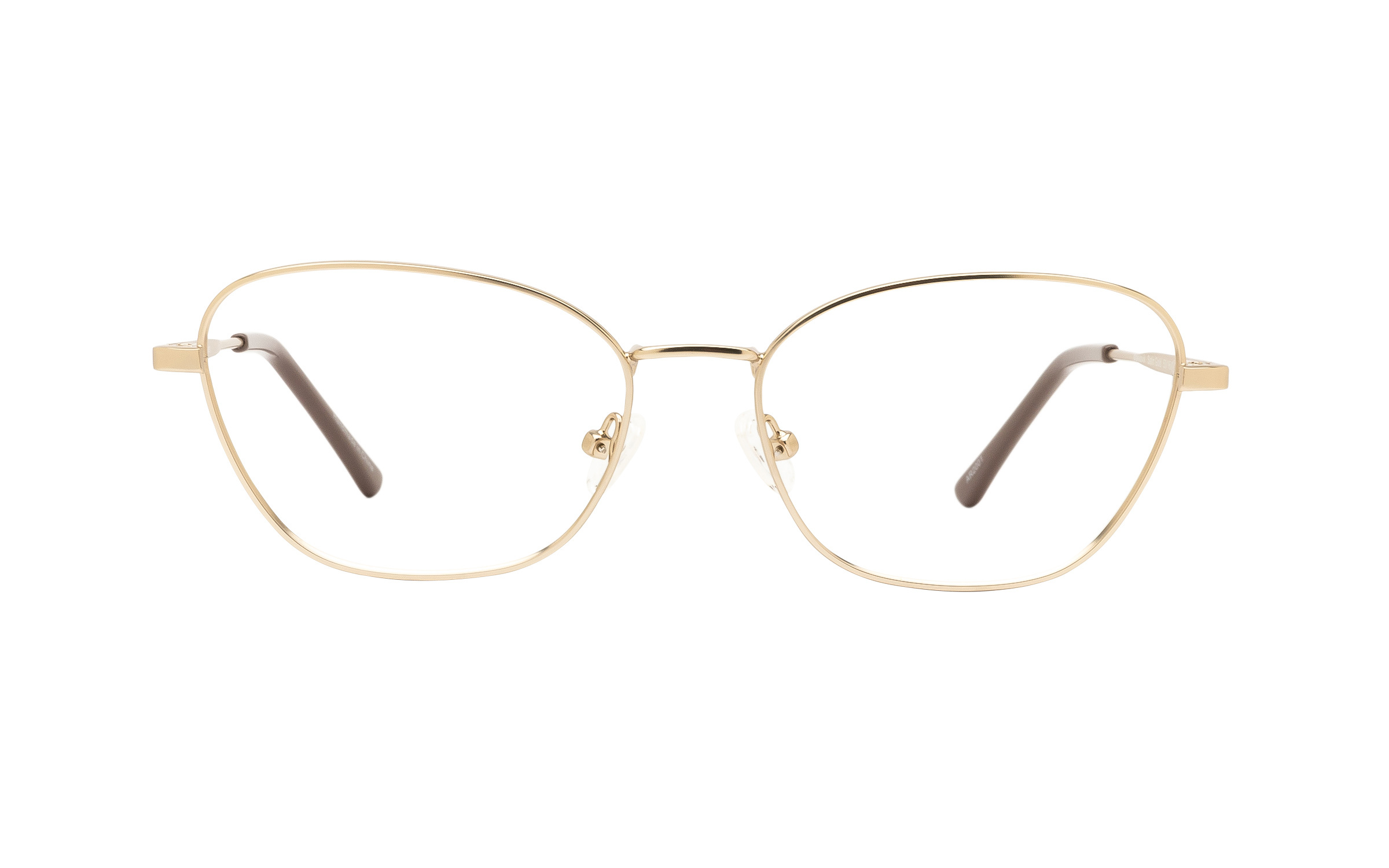http://www.coastal.com/ - Clearly Basics Makkovik CLS065 C01 (53) Eyeglasses and Frame in Satin Gold | Acetate/Metal – Online Coastal