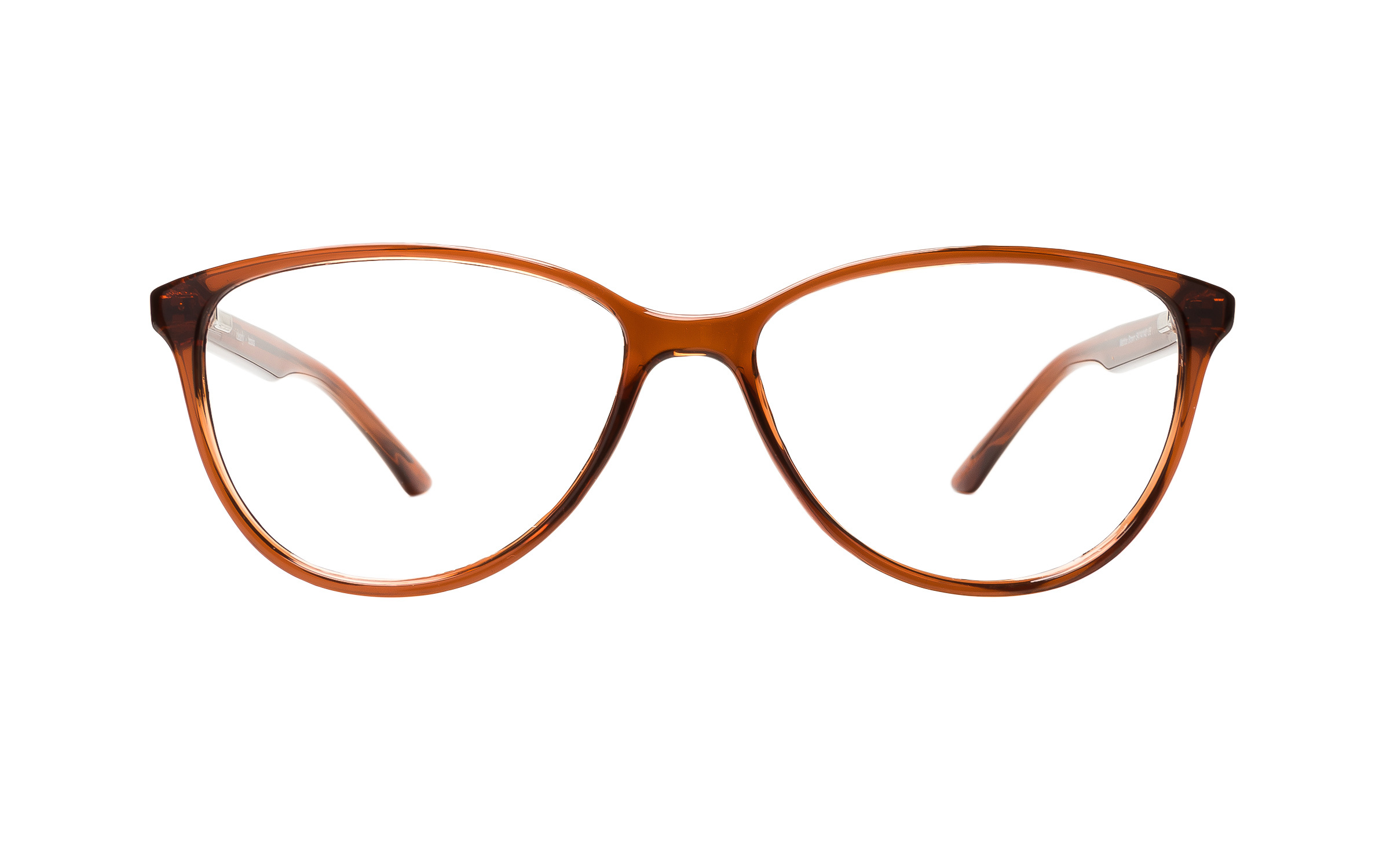 Clearly Basics Women's Mattice (54) Eyeglasses and Frame in Brown | Plastic