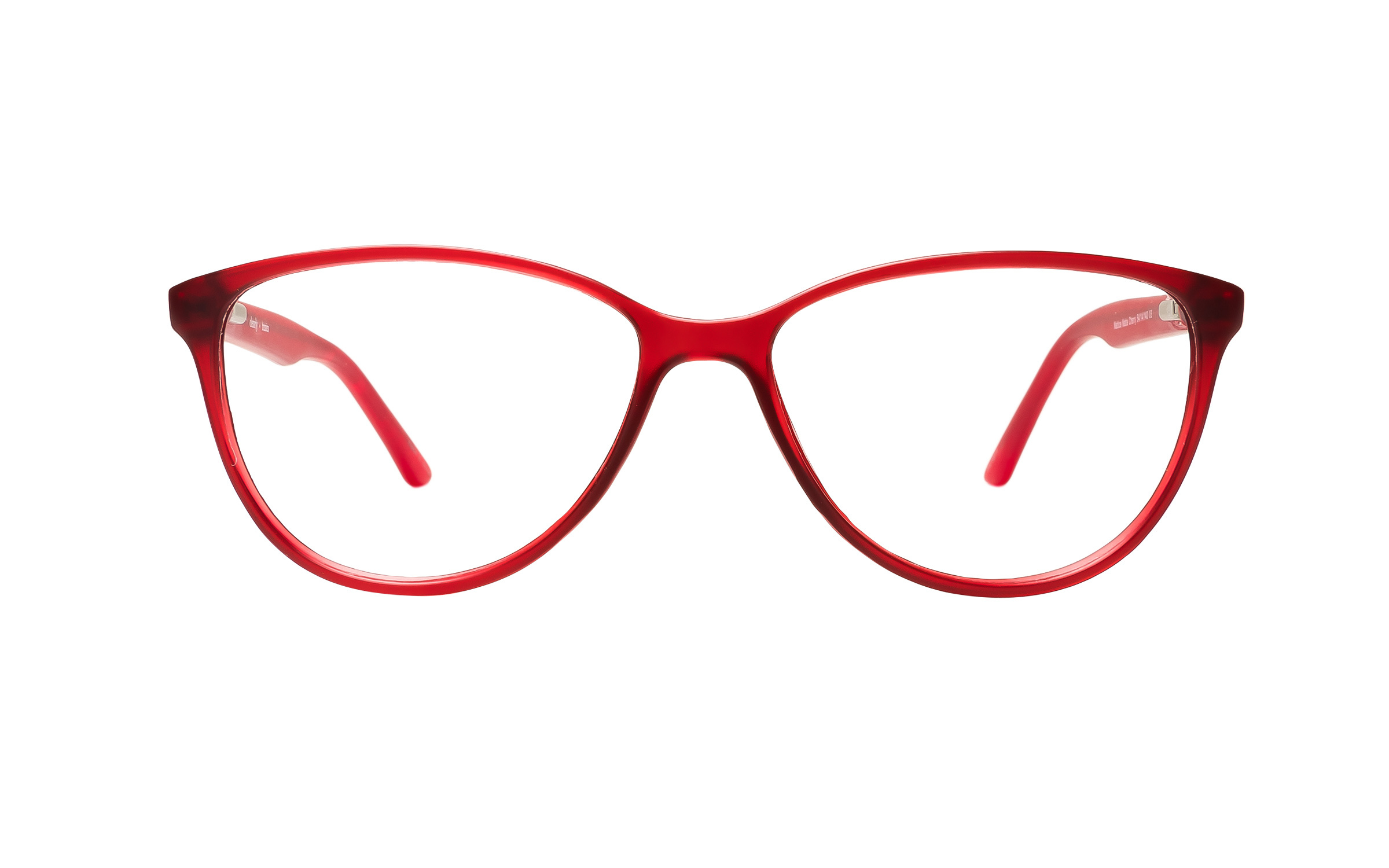 Clearly Basics Mattice (54) Eyeglasses and Frame in Matte Cherry Red | Plastic