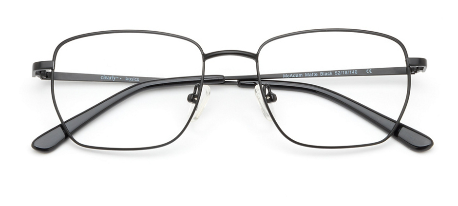 product image of Clearly Basics McAdam-52 Matte Black