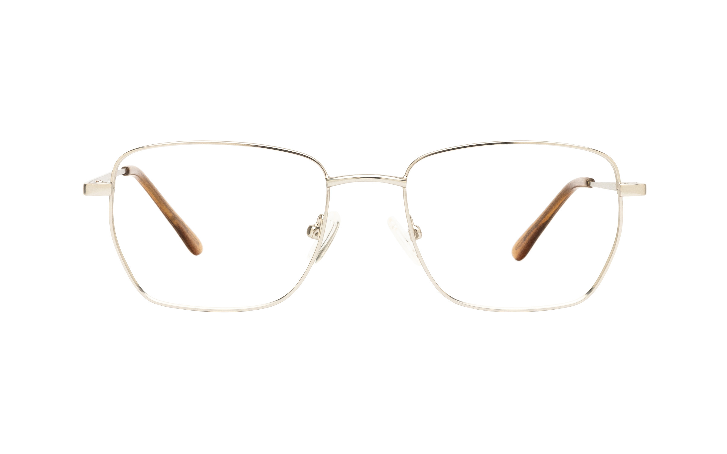 Clearly Basics McAdam CLS029 C02 (52) Eyeglasses and Frame in Matte Silver | Plastic/Metal