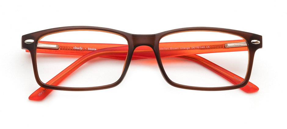 product image of Clearly Basics Melfort-54 Brown Orange