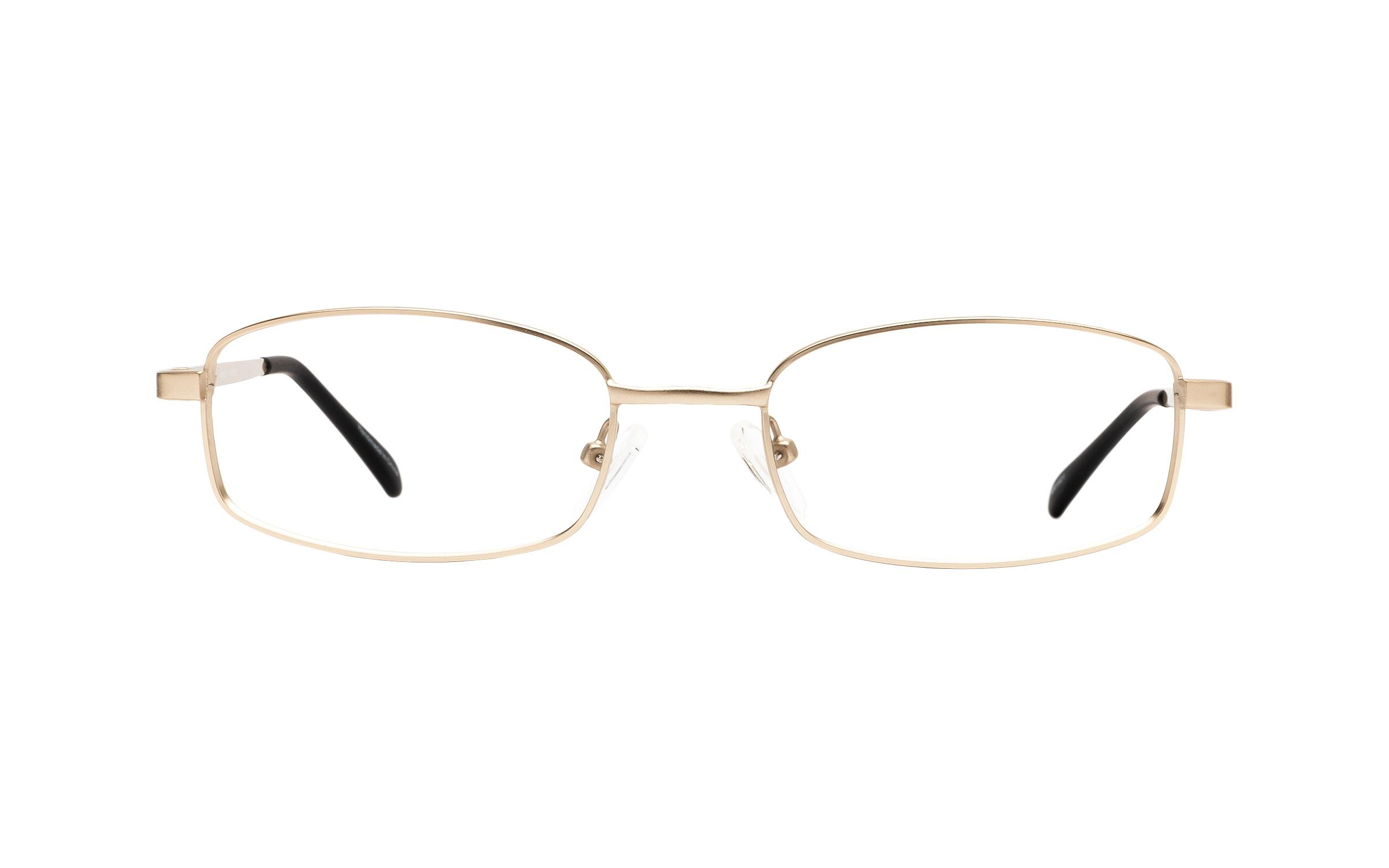 Clearly Basics Nackawic CLS005 C03 (51) Eyeglasses and Frame in Matt Gold | Metal - Online Coastal