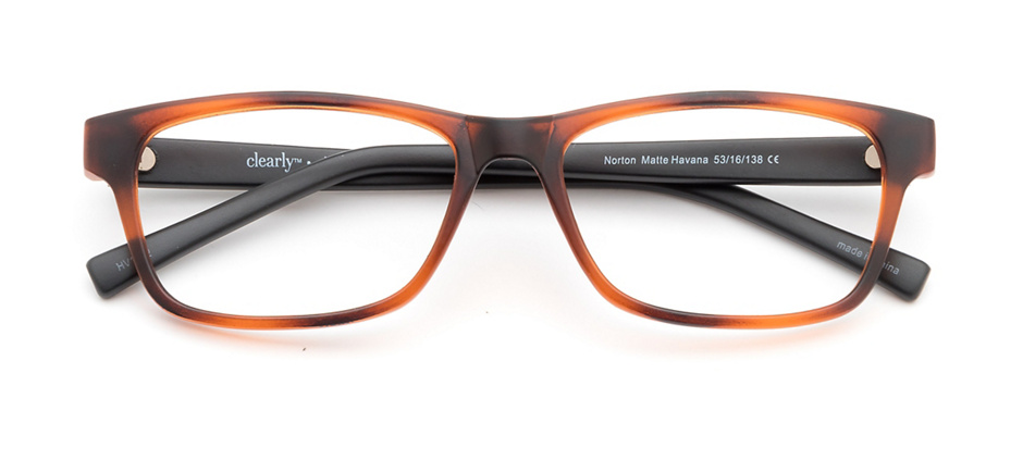 product image of Clearly Basics Norton-53 Matte Havana