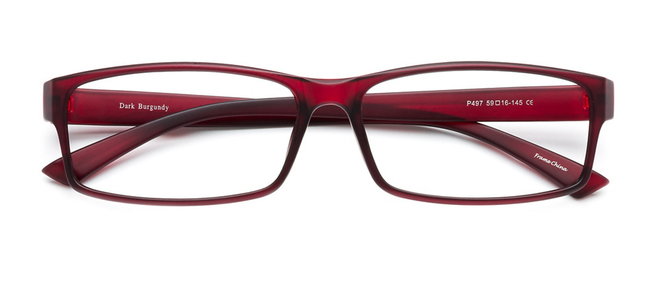 product image of Clearly Basics Bright Sand Dark Burgundy