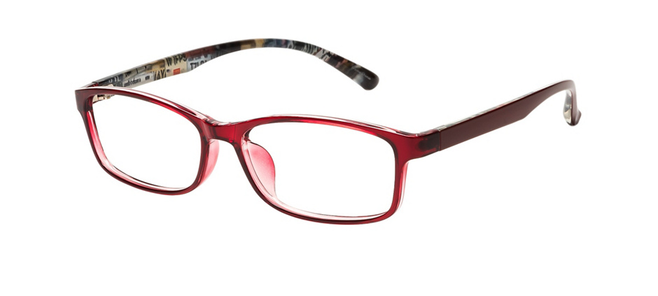 product image of Clearly Basics Chandler Dark Burgundy