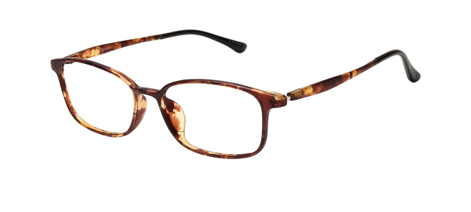 product image of Clearly Basics Tilting Demi Tortoise