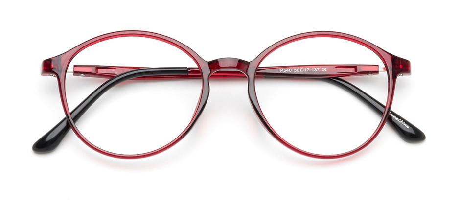 product image of Clearly Basics Batteau Red Crystal