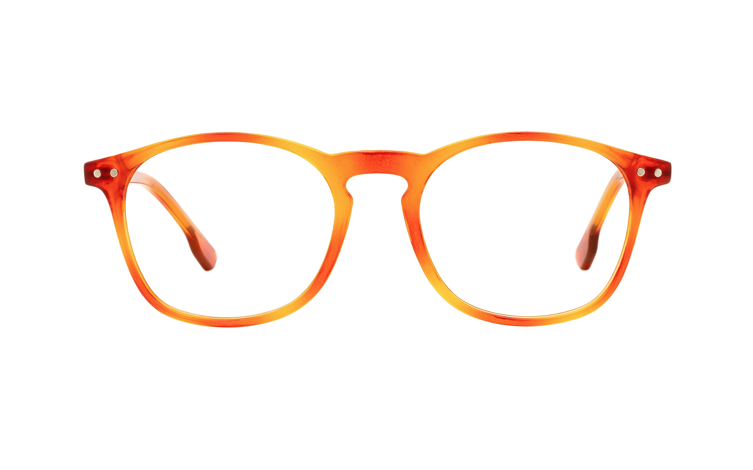 Clearly Basics Paquetville CLS035 C04 (49) Eyeglasses and Frame in Light Havana Tortoise/Orange - Online Coastal
