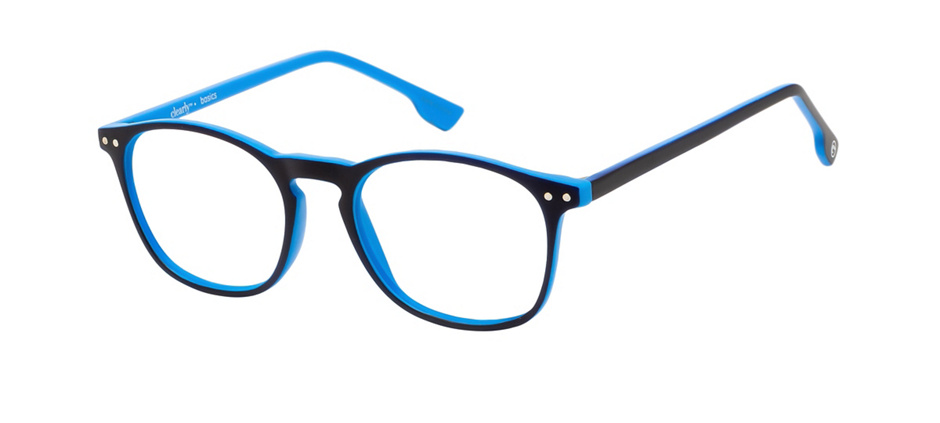 product image of Clearly Basics Paquetville-49 Matte Black Blue